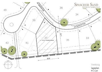 Das letzte Rand-Grundstück im neuen Spascher Park