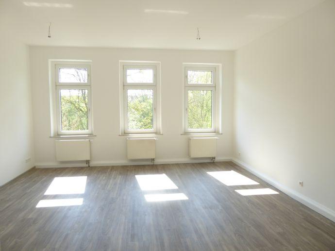 Wohnen mit Parkblick in Gohlis - Neu sanierte Wohnung zur individuellen Gestaltung mit Wintergarten und Tageslichtbad mit Wanne ab sofort zu vermieten