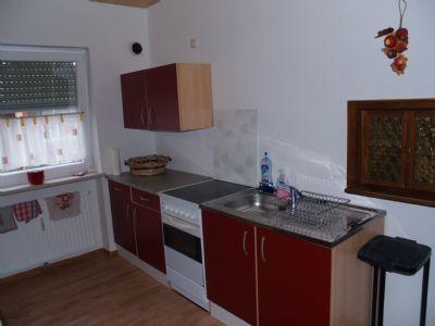 vorhandene Küche kann abgelöst werden