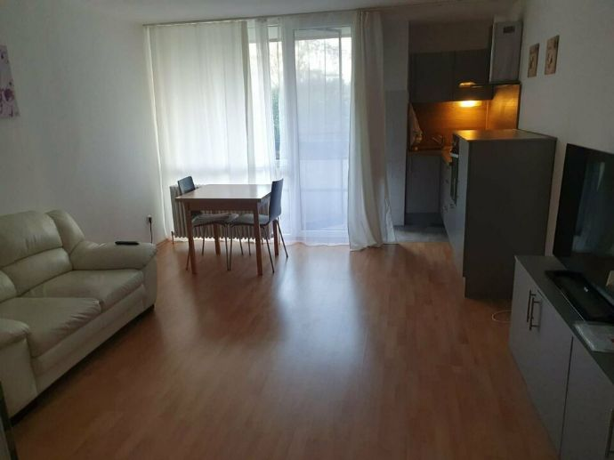 1 Zimmer möblierte Wohnung am Wördersee