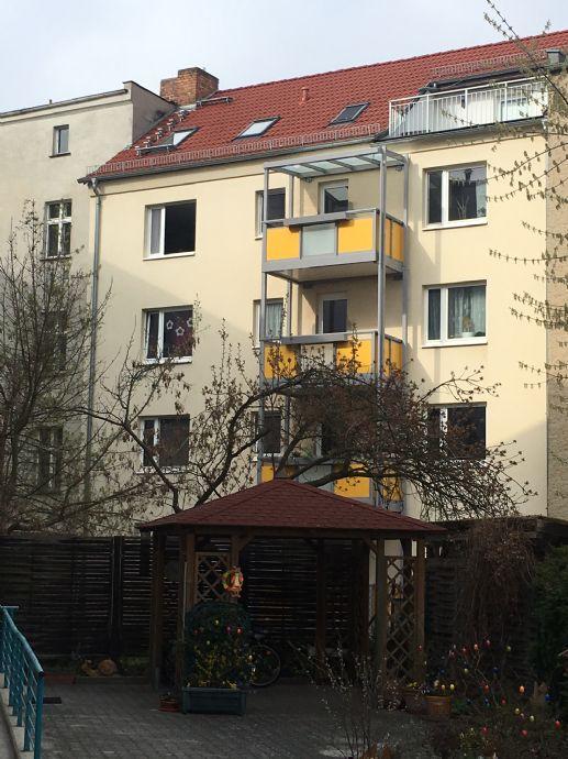 Cottbus 2 Zimmer Wohnung mit Südbalkon Hochparterre