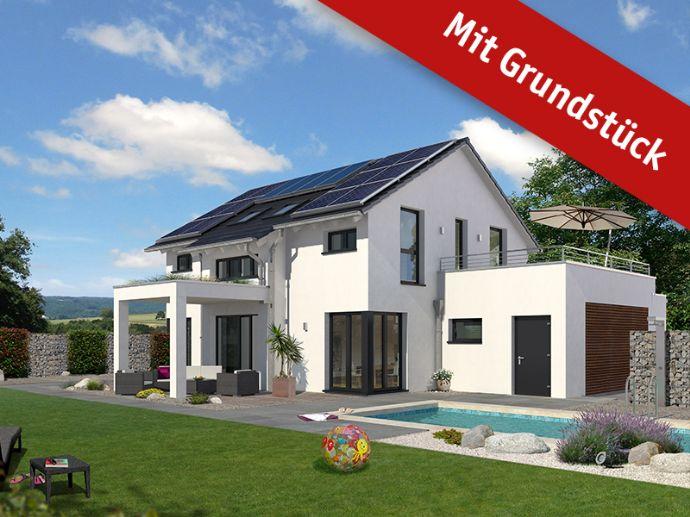 Exclusives Einfamilien - Traumhaus als Effizienzhaus incl. Grundstück