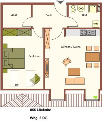 Löcknitz Wohnungen, Löcknitz Wohnung mieten