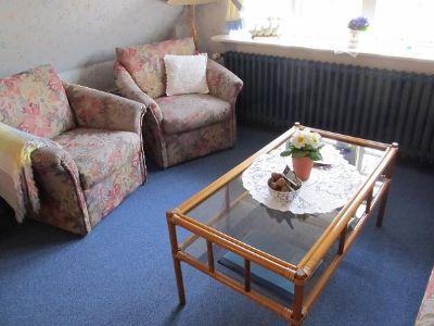 Ferienwohnung mit Hund im Kapitänshaus auf Föhr