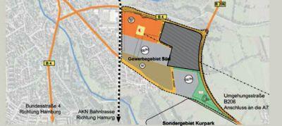 Bad Bramstedt Industrieflächen, Lagerflächen, Produktionshalle, Serviceflächen