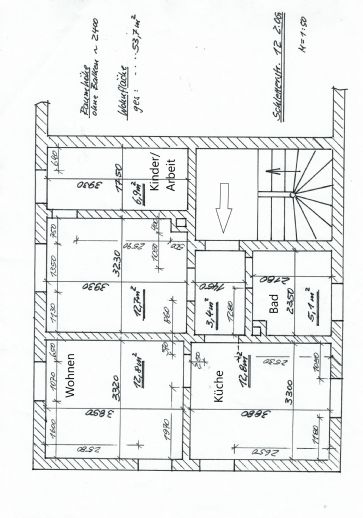 Frisch renovierte 2,5-Zimmer-Wohnung in Groitzsch