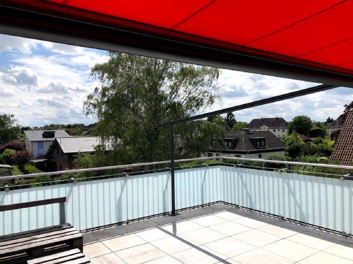 Moderne Wohnung mit großer Dachterrasse