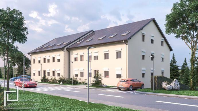 NEUBAU 4 Zimmer WHG Inl. Garage in Rödental bei Coburg
