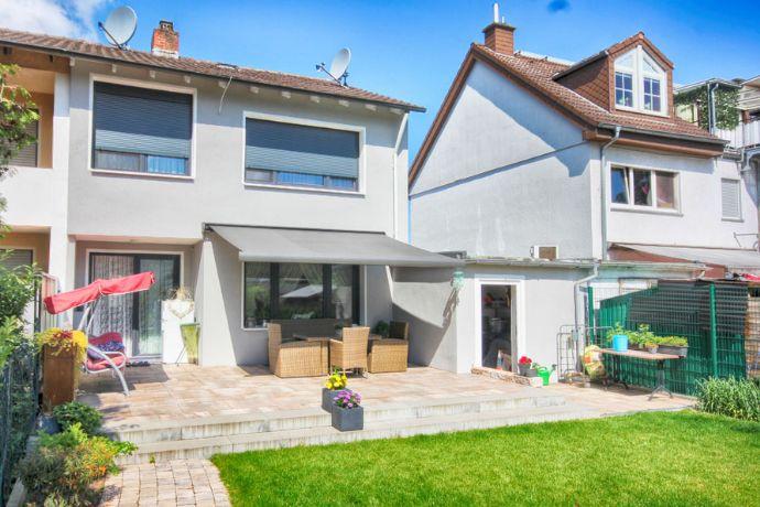 Sanierte DHH mit schönem Gartengrundstück und Garage, in begehrter Lage von Maintal-Dörnigheim