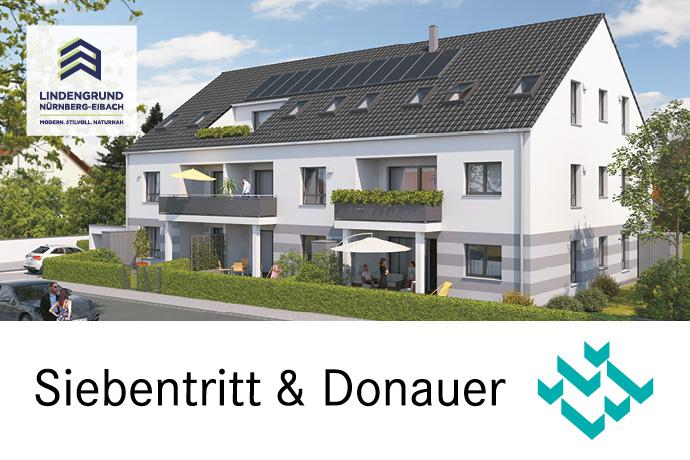 Grundrissänderung jetzt noch möglich: 4-Zimmer-Wohnung in TOP-Wohnlage mit Lift und Tiefgarage in Nürnberg-Eibach