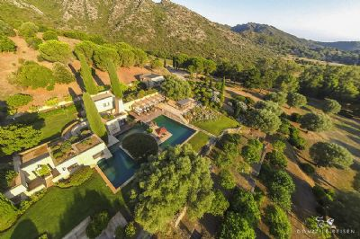 Campo di Scoba: Luxusvilla  in Saint Florent, Korsika