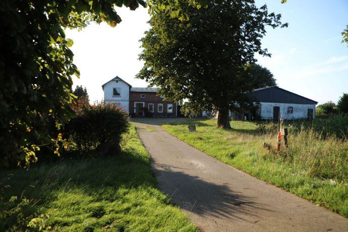 Resthof in Alleinlage - Zwischen Schleswig
