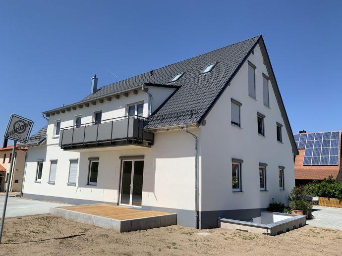 Erholsames Wohnen in Schlüsselau - Erstbezug einer 3,5-Zimmer-Wohnung mit gehobener Ausstattung (pro
