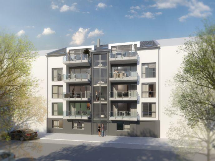 Wunderbarer 2 Zimmer Erstbezug mit Terrasse auf dem Westwall 77 in Krefeld! Seniorengerecht und beste Ausstattung!