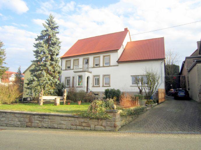 RESERVIERT ***Liebhaberobjekt - Idyllischer Dreiseitenhof mit viel Platz für Wohnen, Gewerbe und Freizeit in Desloch bei Meisenheim***