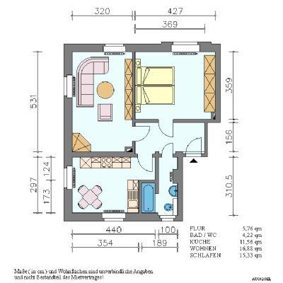Geräumige 2-Raum-Wohnung in Pirna-Copitz