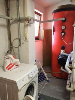 Warmwassertank mit 500 l aus Edelstahl