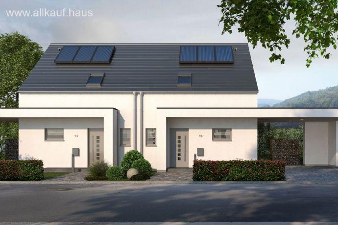 Doppelhaus Double 10 - puristische Eleganz