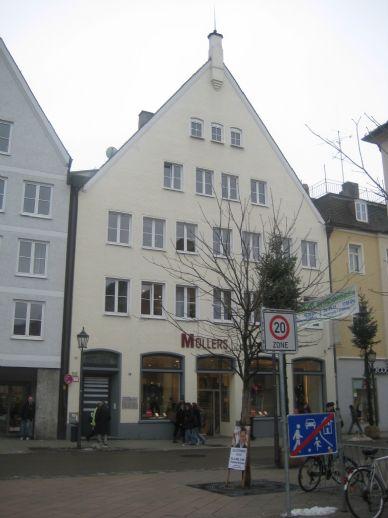 2,5-Zimmer-Wohnung im Stadtzentrum von Memmingen