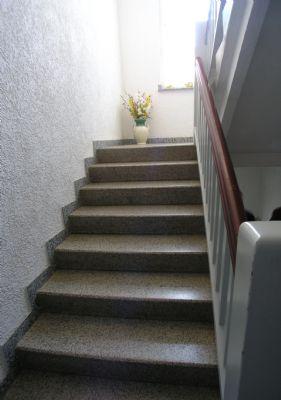 auch das Treppenhaus ist eine Augenweide