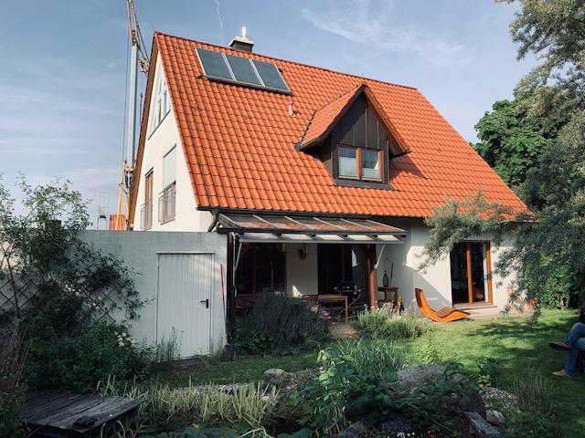 Geniales Stadthaus in ruhiger grüner Lage