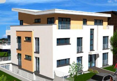 barrierefreie neubau 3 zimmerwohnung wohnung mit balkon oder dachterrasse aufzug und tg in st. Black Bedroom Furniture Sets. Home Design Ideas