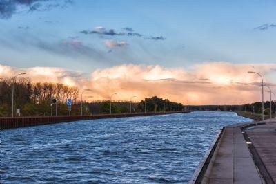 Der Kanal zwischen Magdeburg und Möser