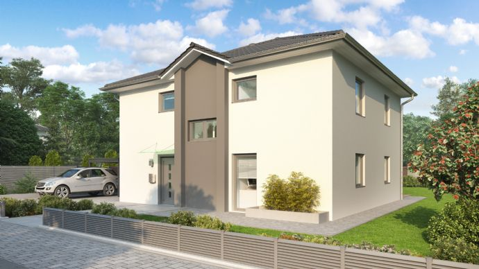 Moderne Stadtvilla incl. Grundstück in der Gartenstad Bad Kösen