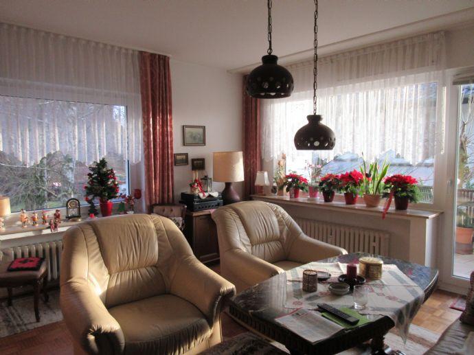 Gepflegte ,ruhige,helle 75qm Wohnung in Bösingfeld sucht Sie
