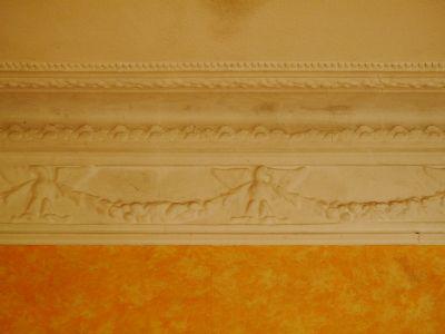 Villa Wand-/Deckenstuckfries