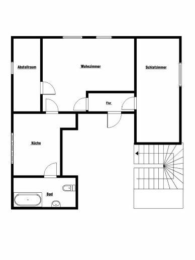 Dachgeschoßwohnung in Jugendstil-Villa