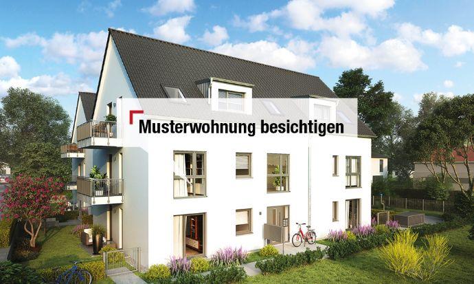 Hier bekommen Sie das provisionsfreie Komplettpaket: Wohnung inkl. zwei Terrassen und Garten!