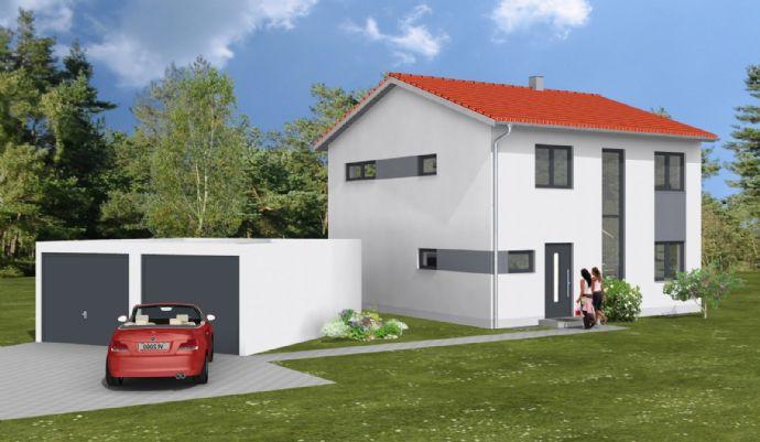 Neubau-Doppelhaushälfte zum Erstbezug in Holzheim