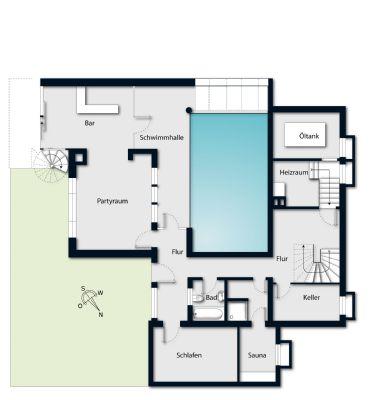 Grundriss, Untergeschoss
