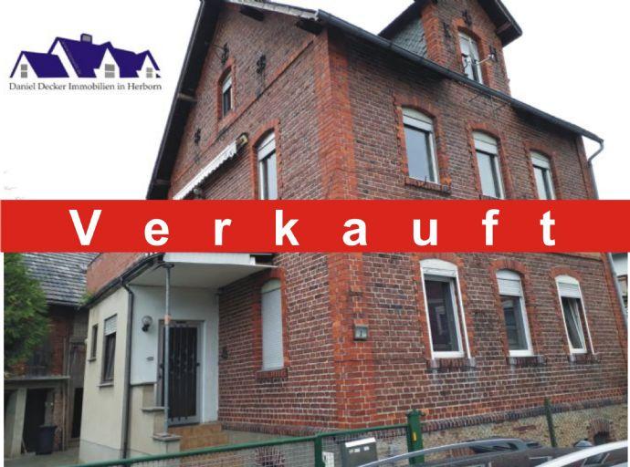 ** Reserviert ** Haus in Werdorf ** 4 ZKB + Garten + Balkon + Scheune + Stellplätze **