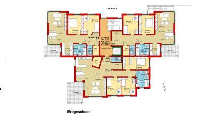 Erdgeschoss Haus B