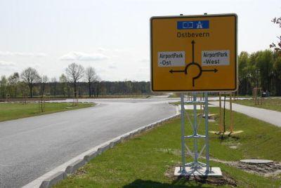 Zufahrt zur A1