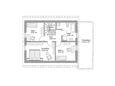 Dachgeschoss Haus Piccolo_SD