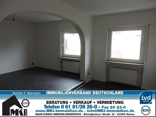 Kernsanierte 3,5 Zimmer Wohnung im Herzen von Kleinauheim