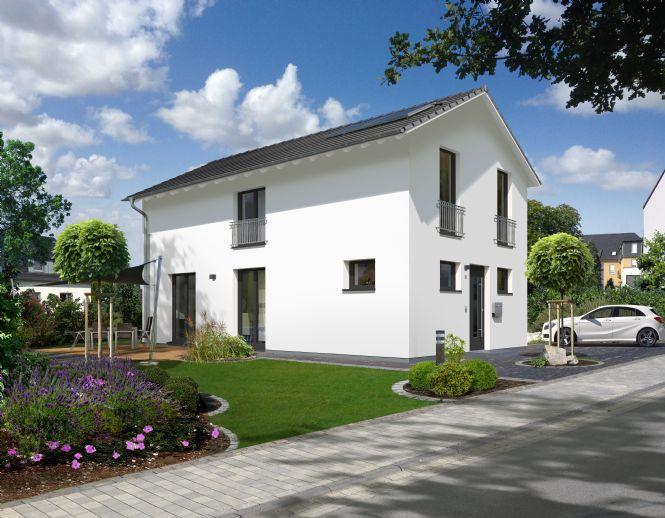 Modernes Stadthaus auf sonnigem Grundstück