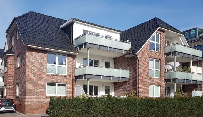 Halstenbek Zentrum, Gustavstr., 3-Zimmer-Komfort-Wohnung mit Balkon, barrierearm mit Aufzug