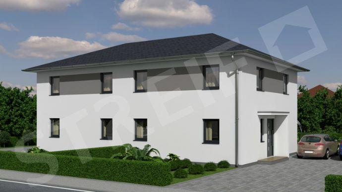 Für schnellentschlossene Häuslebauer - moderne STREIF KFW Doppelhaushälfte (rechte Seite)