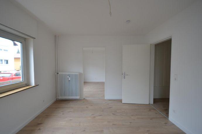 gemütliche 3-Zimmer-Wohnung mit Gartennutzung in Leimen - ab sofort zu haben!