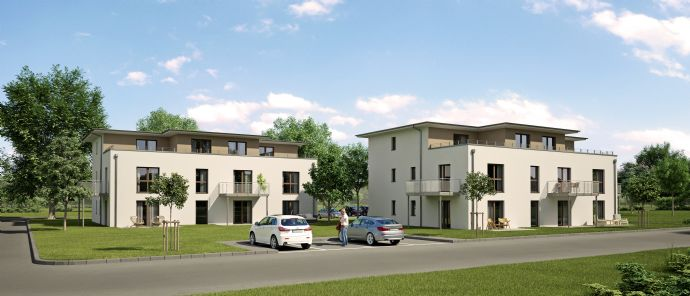 Energie-effiziente 3-Zimmer-Neubau-Wohnung mit Dachterrasse (#7)