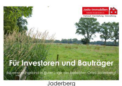 Baugebiet in Jaderberg! Perfekte Gelegenheit für Investoren und Bauträger!