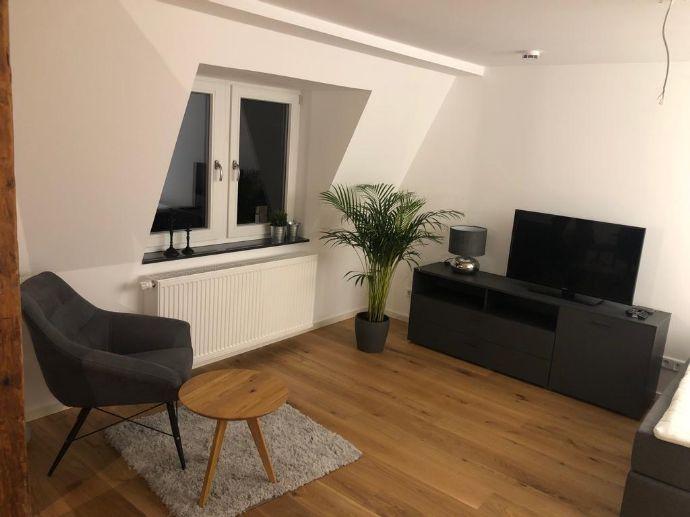 Exklusive 1-Zi-Wohnung in der Fürther Altstadt! Vollständig möbliert