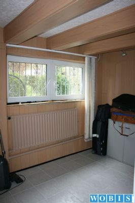 ausgebauter Raum im Kellergeschoss