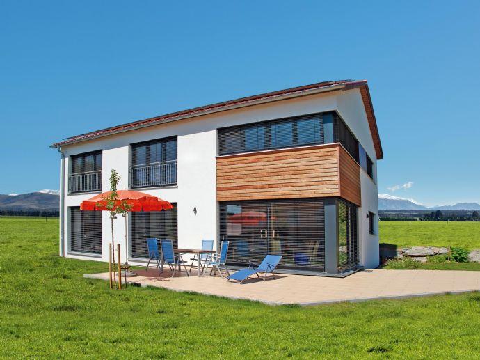 Wohnträume leben: neues Naturholzhaus mit großzügigem Grundstück!
