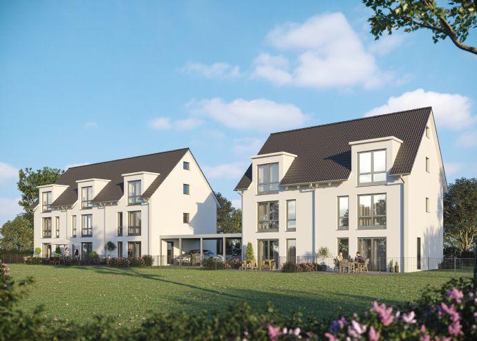 -:- Baubeginn erfolgt -:- NEUBAU - Doppelhaushälfte in TOP-Lage von Erlangen- Bruck nähe neuem Siemens Campus