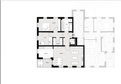 sch tz bau gro z gige 3 zimmer wohnung in waldperlach etagenwohnung m nchen 2gxs245. Black Bedroom Furniture Sets. Home Design Ideas